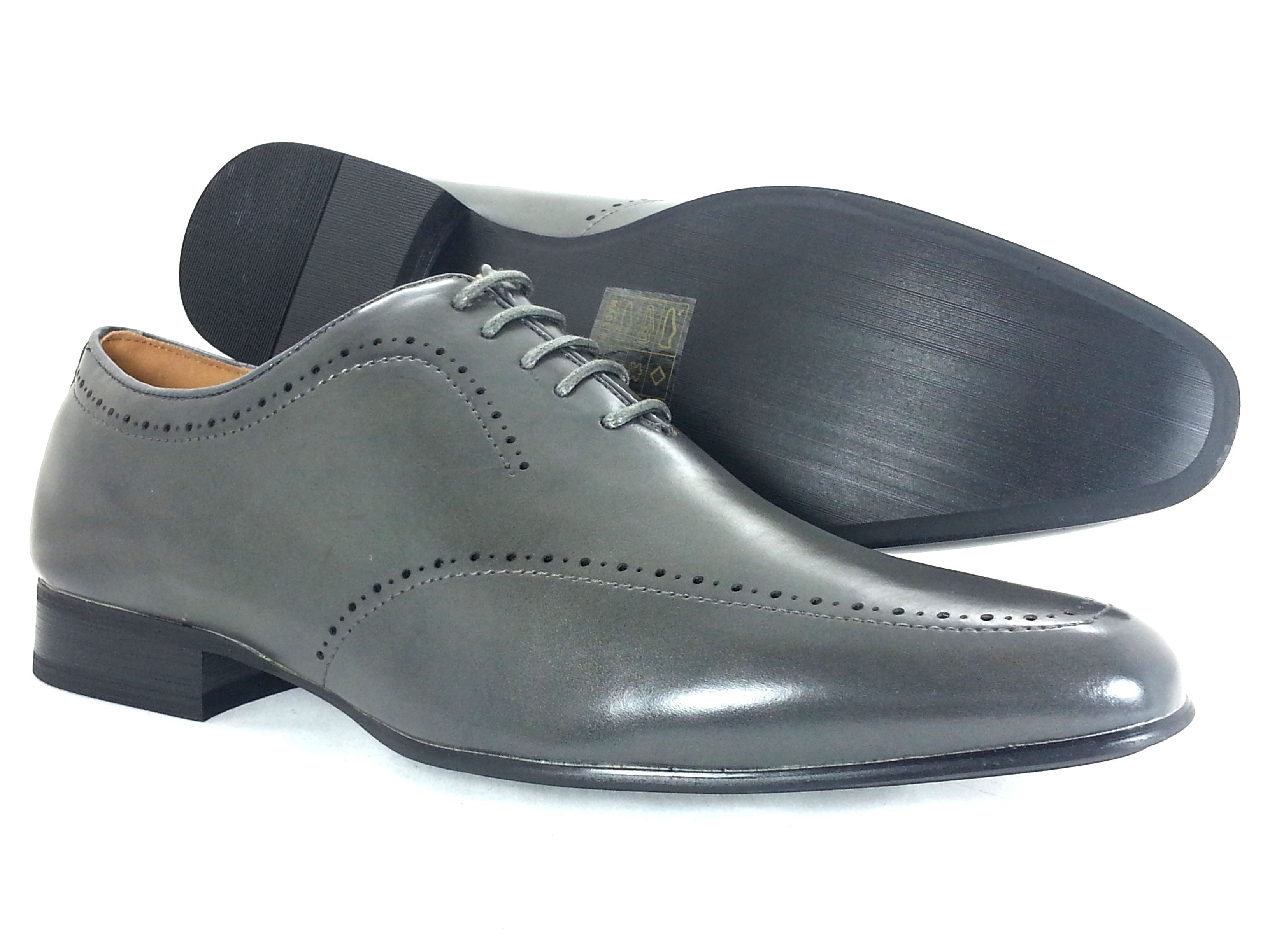 mens dress shoes majestic grey oxford lace up fashion