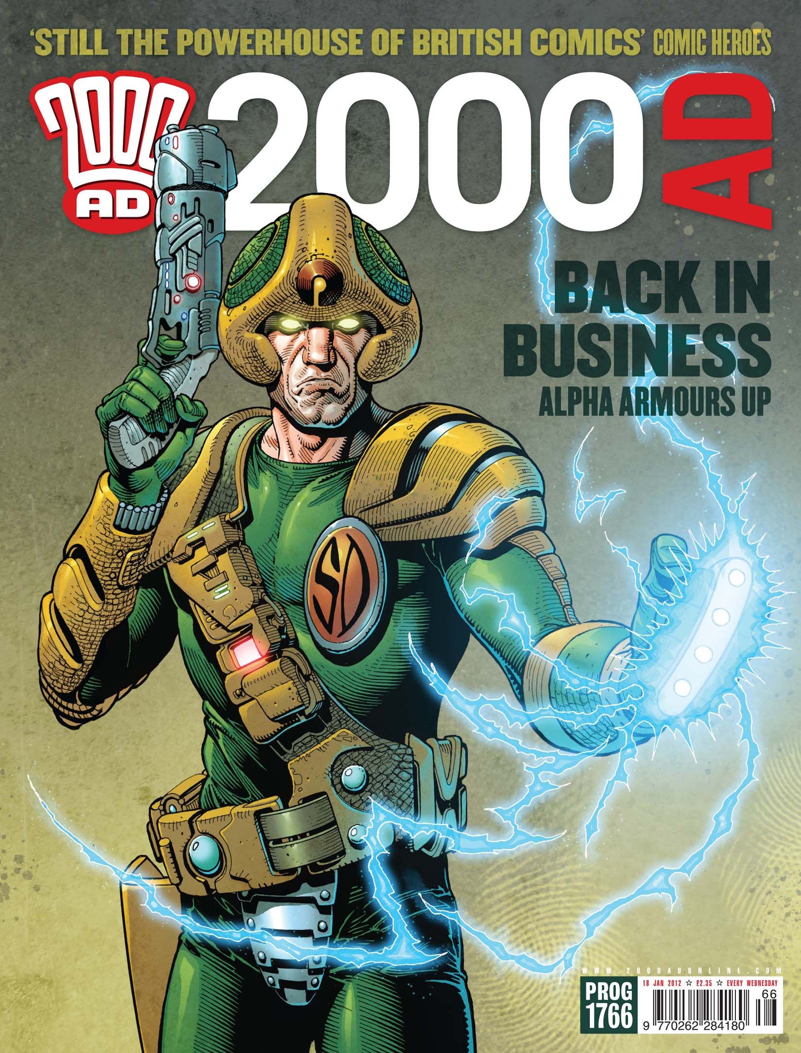 2000ad Cover Gallery x