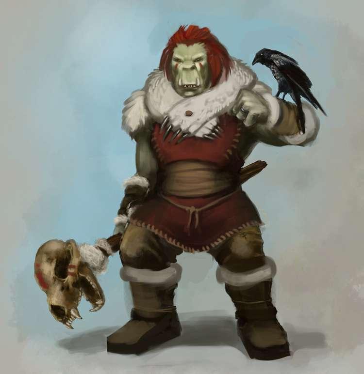 Art Test - Orc Shaman