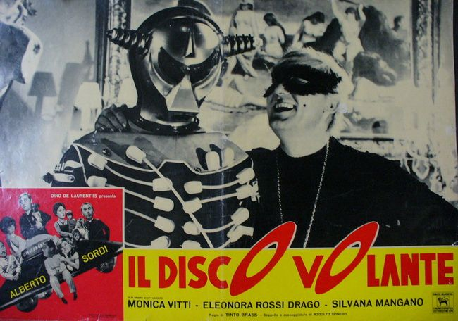 resizedildiscovolantea1 Tinto Brass   Il disco volante aka The Flying Saucer (1964)